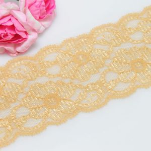 Lace trimmings, Light brown, 5.2cm x 2m, 1 piece, (LHP039)